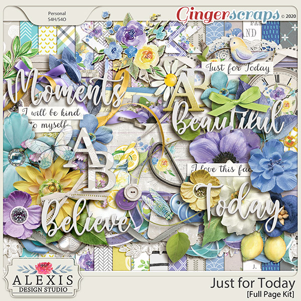 Just For Today Collection By Alexis Design Studio