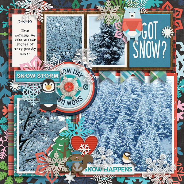 Layout by Tracey (Template by Tinci!)