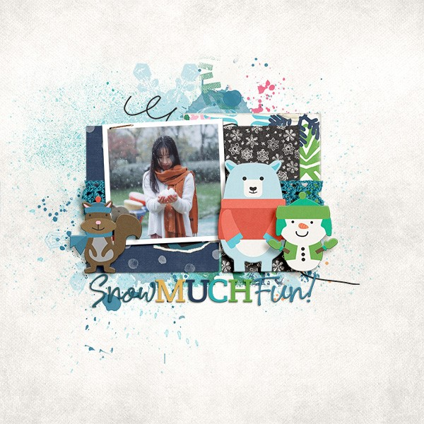 Layout by Tracy