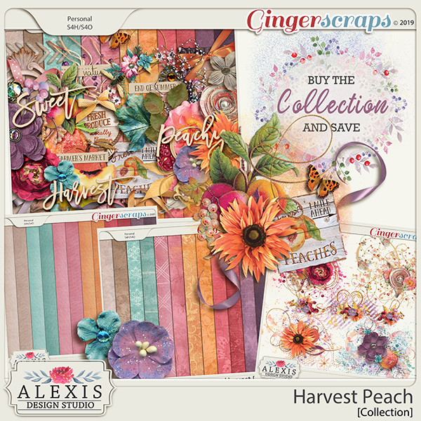 Harvest Peach Collection By Alexis Design Studio