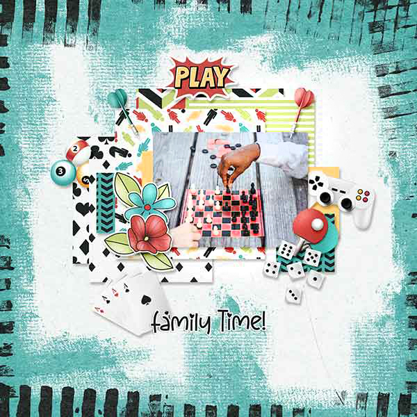 Layout art created by Renee