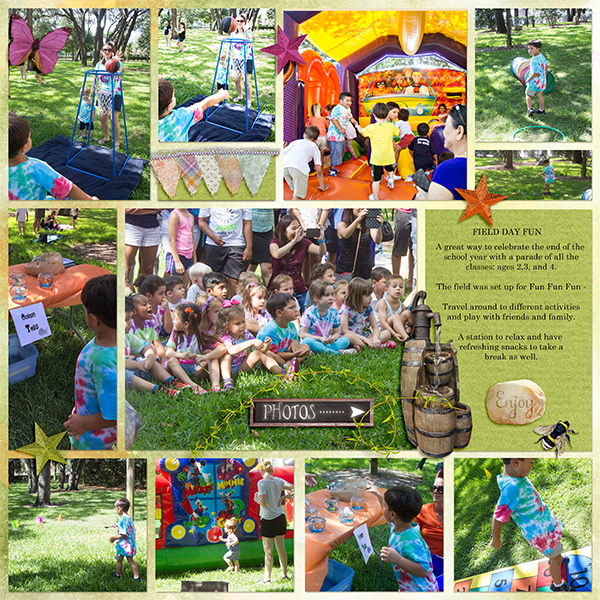 Backyard Party Layout by MsBrad