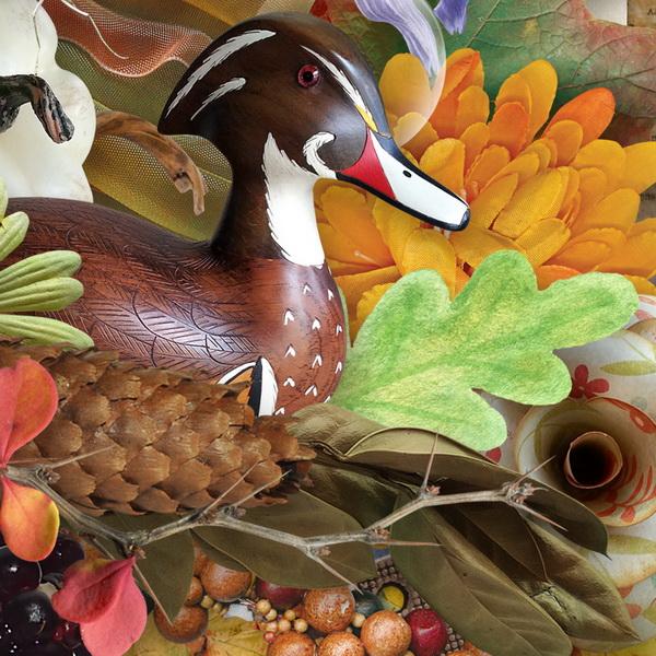 Playful Autumn Detail