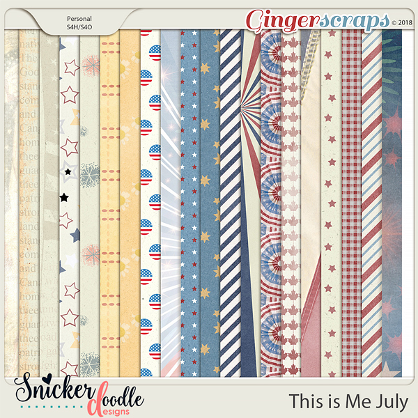 This is Me July by Snickerdoodle Designs