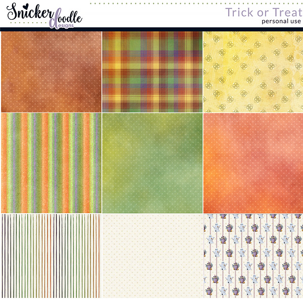 Trick or Treat by Snickerdoodle Designs