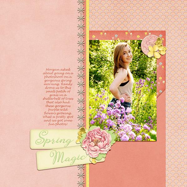Spring Magic By Dandelion Dust Designs