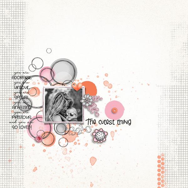 Layout art created by sylvia