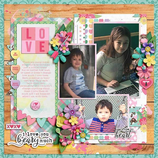 Layout by Jennifer B