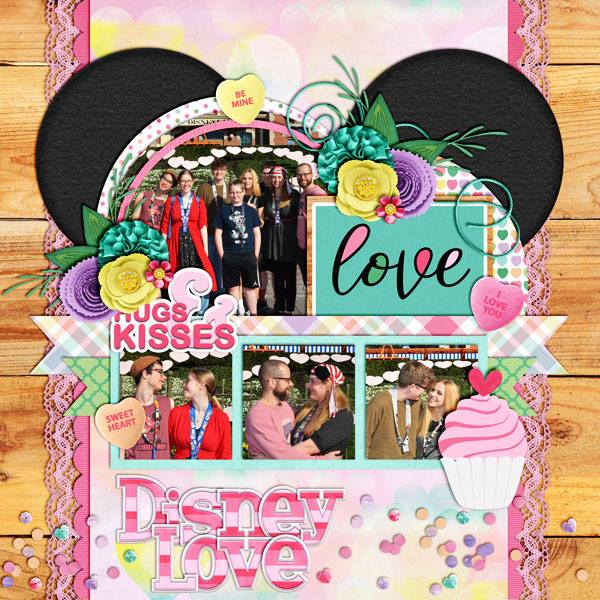 Layout by Kimberly
