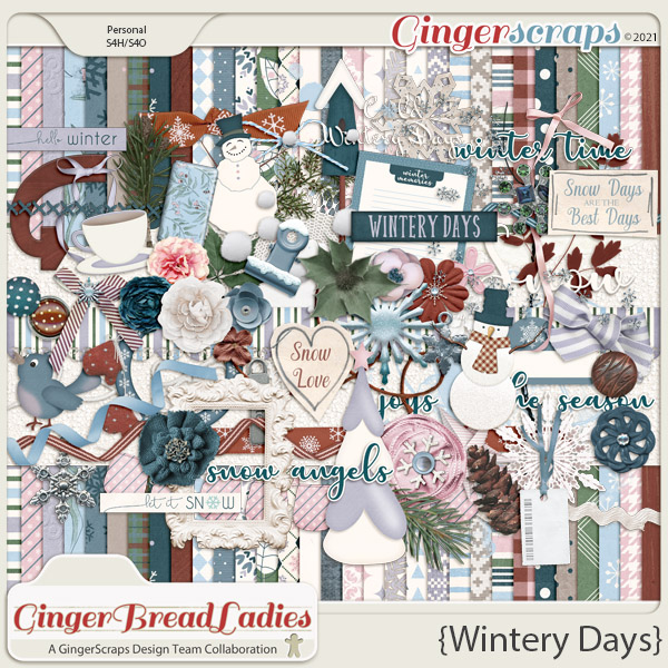 GingerBread Ladies Monthly Mix: Wintery Days