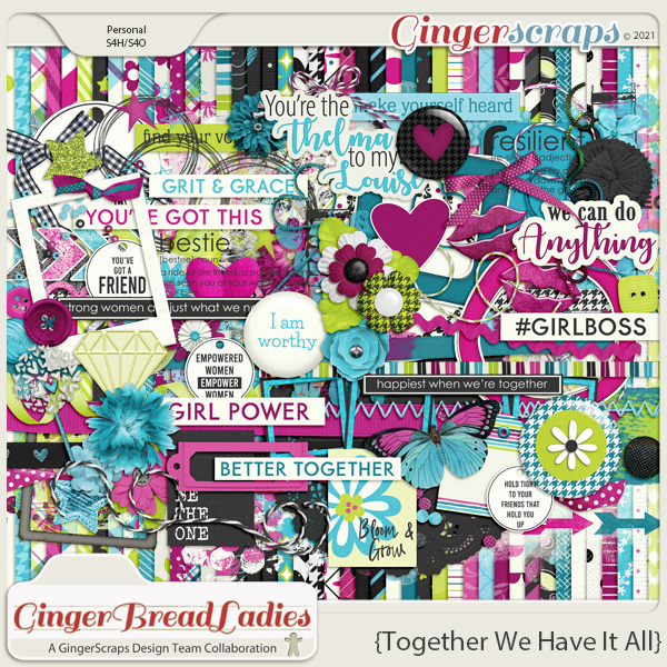 GingerBread Ladies Collab: Together We Have It All