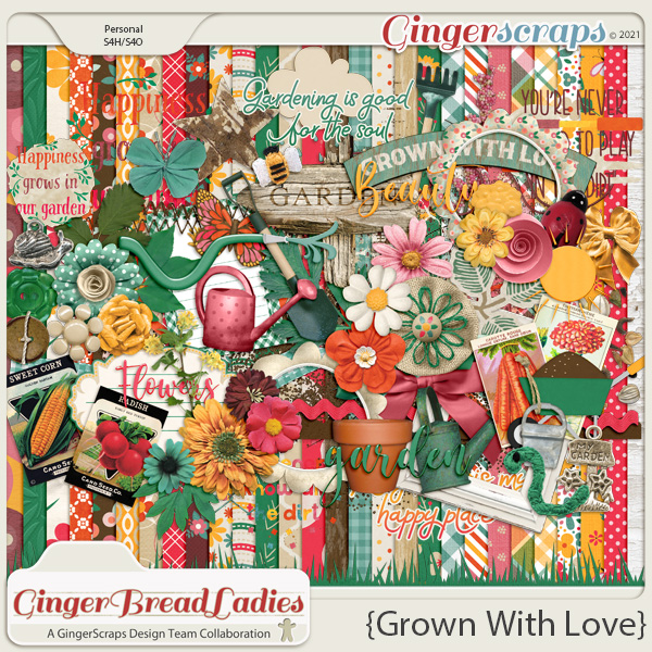 GingerBread Ladies Monthly Mix: Grown With Love