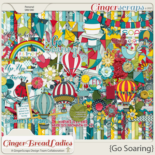 GingerBread Ladies Monthly Mix: Go Soaring
