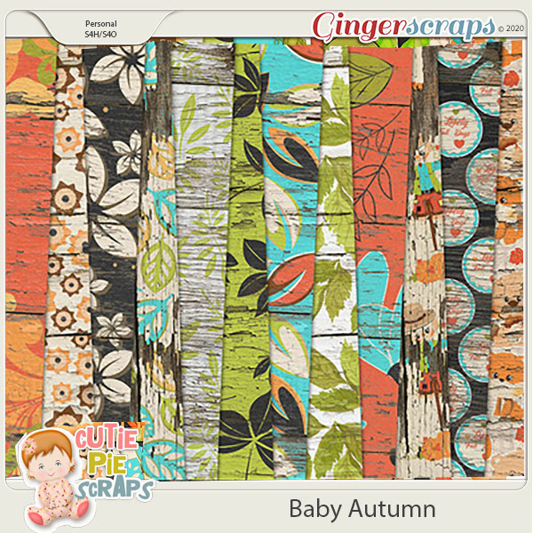Baby Autumn-Wood Papers