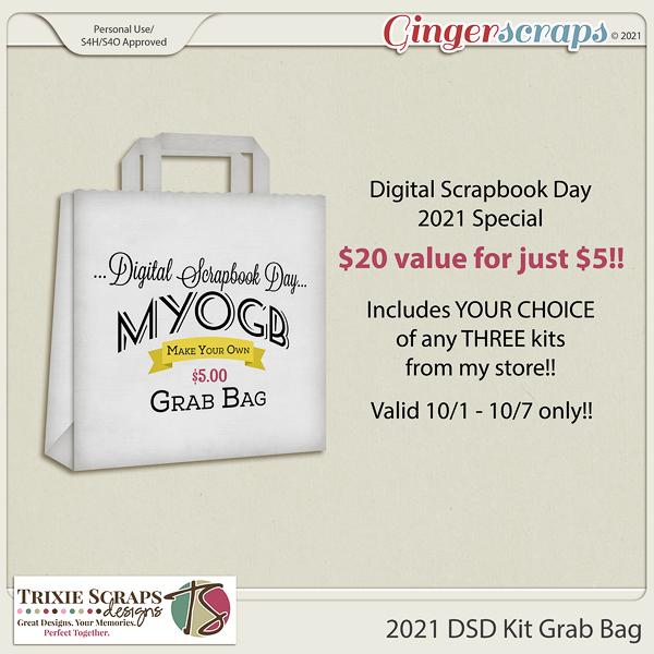 2021 DSD Kit Grab Bag by Trixie Scraps Designs