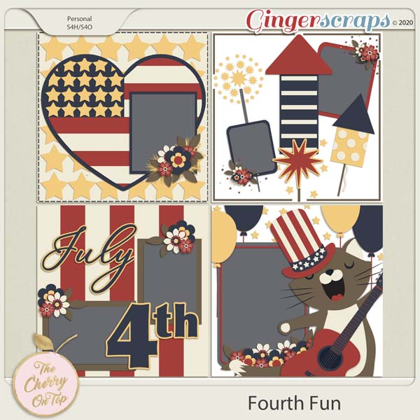 The Cherry On Top:  Fourth Fun Templates