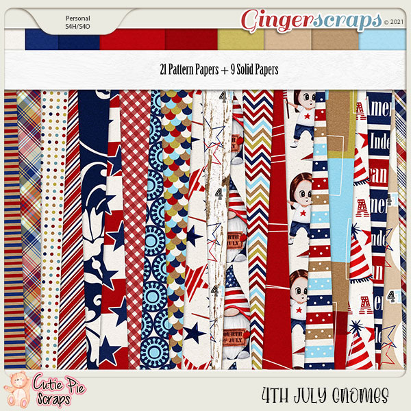 4Th July Gnomes Papers