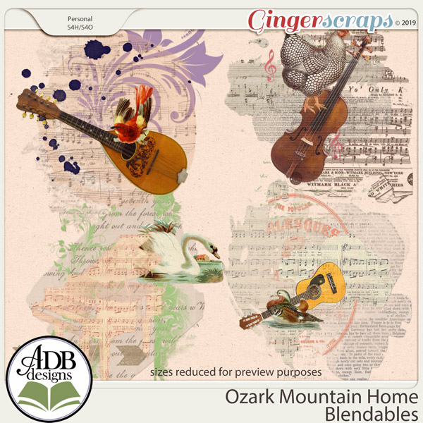 Ozark Mountain Home Page Blends by ADB Designs