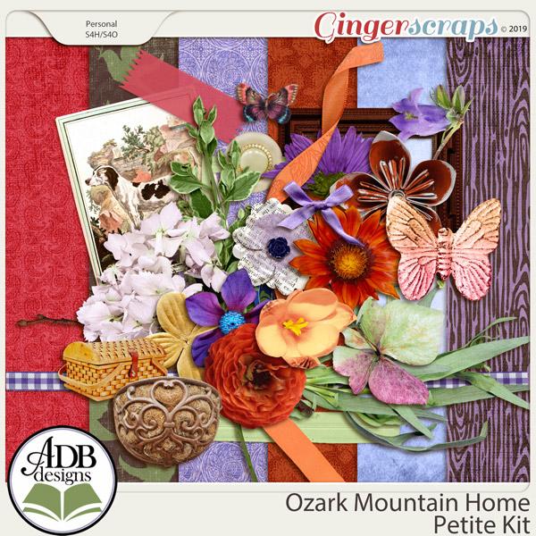Ozark Mountain Home Petite Kit by ADB Designs