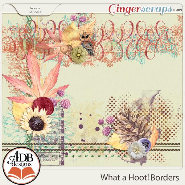 What A Hoot Borders by ADB Designs