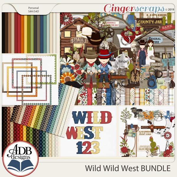 Wild Wild West Bundle by ADB Designs