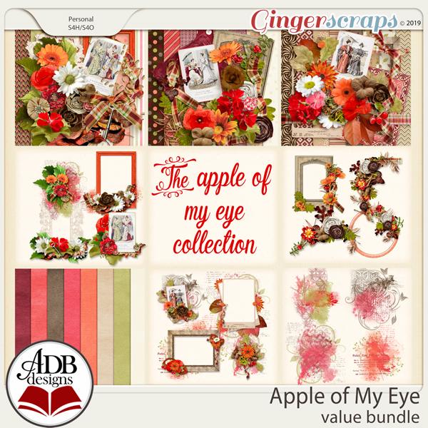 Apple of My Eye Bundle by ADB Designs