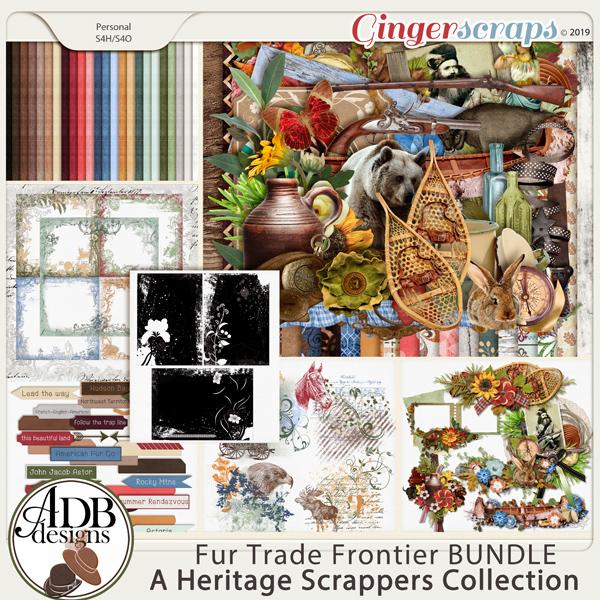 Fur Trade Frontier Bundle by ADB Designs