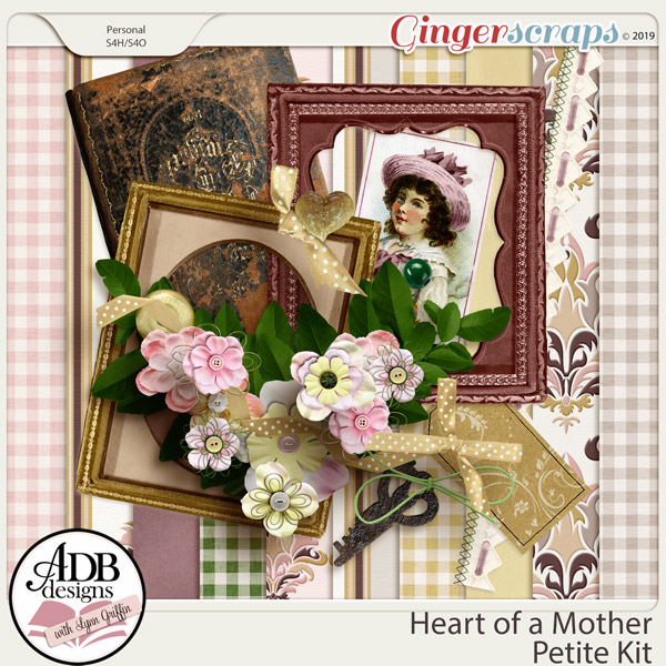 Heart of a Mother Mini Kit by ADB Designs