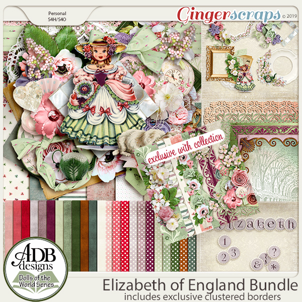 Elizabeth Collection {DOTW England} by ADB Designs