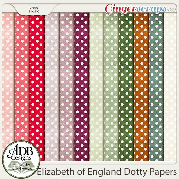 Elizabeth Dotty Papers {DOTW England} by ADB Designs