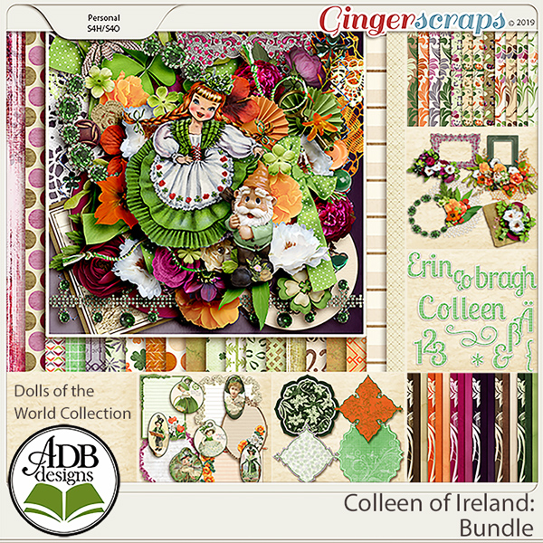 Colleen of Ireland Collection by ADB Designs