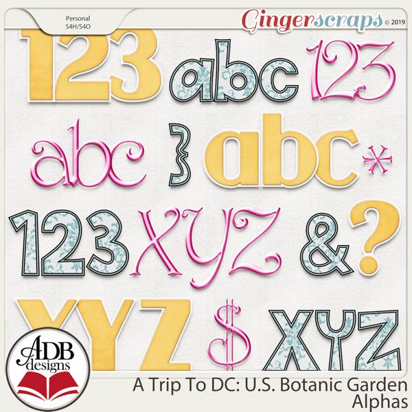 A Trip To DC - U.S. Botanic Garden Alphas by ADB Designs