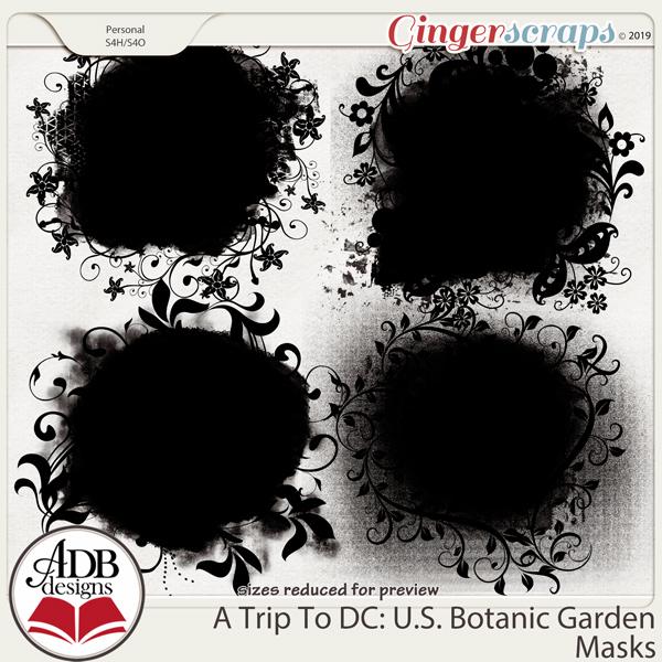 A Trip To DC - U.S. Botanic Garden Masks by ADB Designs
