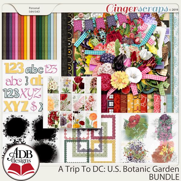 A Trip To DC - U.S. Botanic Garden Bundle by ADB Designs