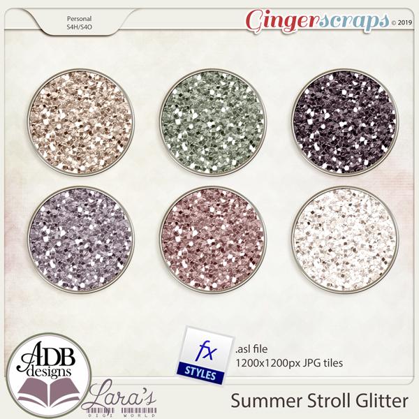 Summer Stroll Glitters
