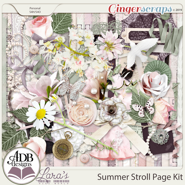 Summer Stroll Page Kit