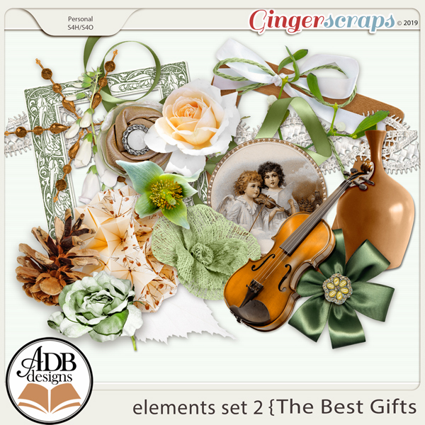 The Best Gifts Elements Set 2 by ADB Designs