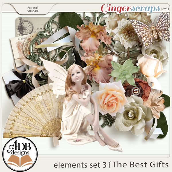 The Best Gifts Elements Set 3 by ADB Designs