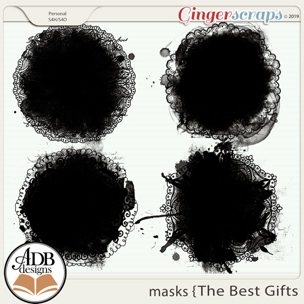 The Best Gifts Masks by ADB Designs