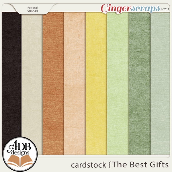 The Best Gifts Cardstock Solids by ADB Designs