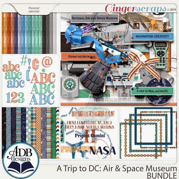 A Trip to DC - Air & Space Museum Bundle by ADB Designs