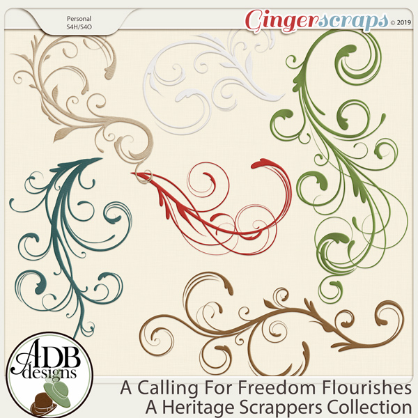 A Calling For Freedom Flourishes by ADB Designs