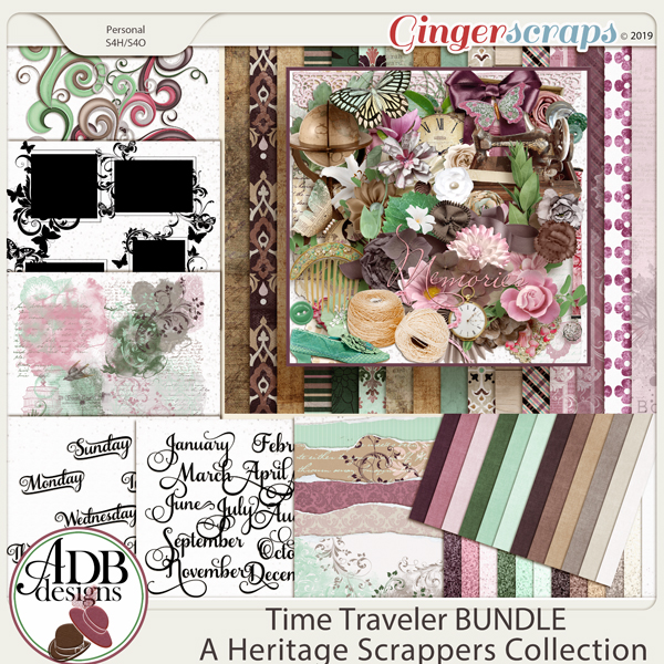 Time Traveler Mega Bundle by ADB Designs