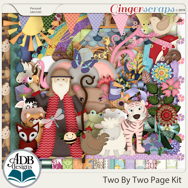 Two By Two Page Kit by ADB Designs