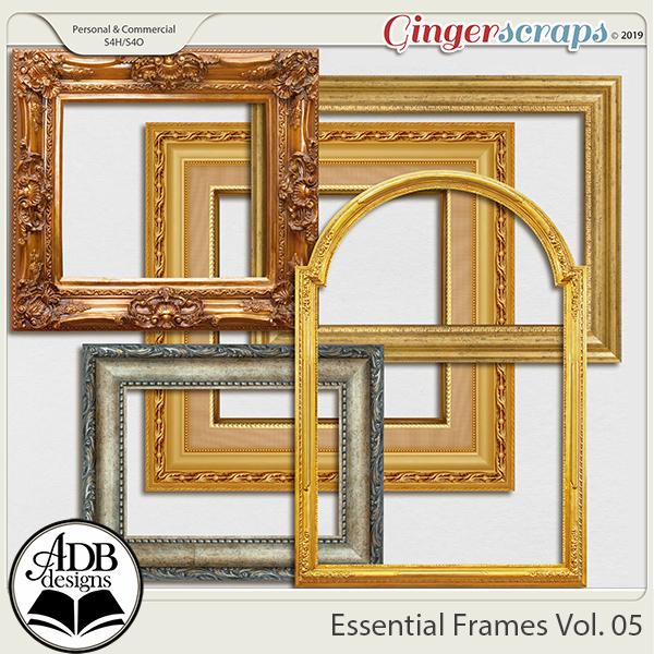 Essential Frames Vol 05 by ADB Designs