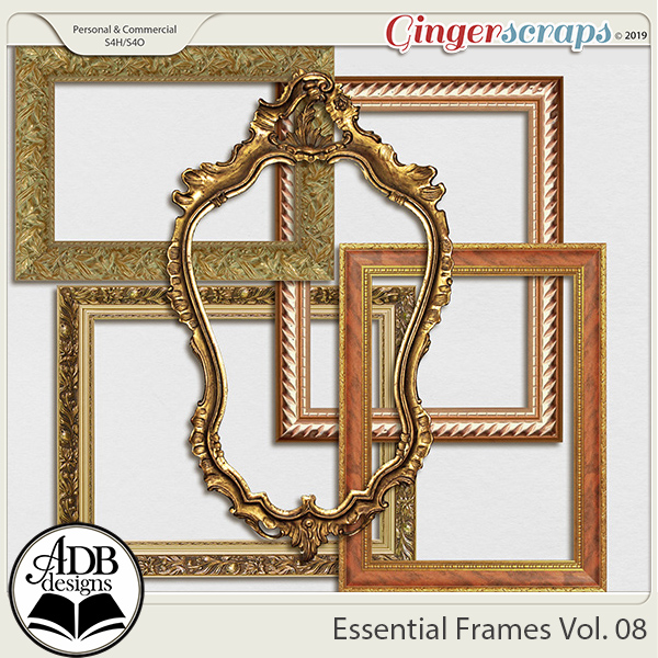 Essential Frames Vol 08 by ADB Designs