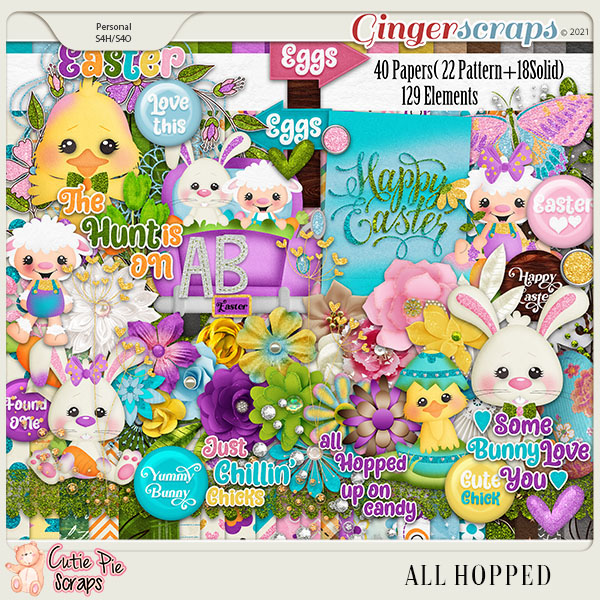 All Hopped Page Kit