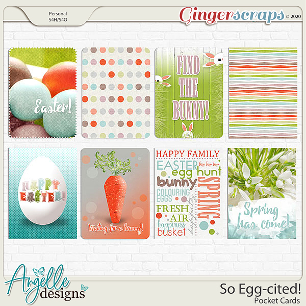 So Egg-cited! Pocket Cards by Angelle Designs