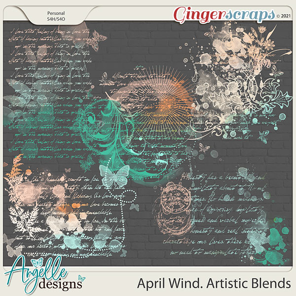 April Wind. Artistic Blends by Angelle Designs