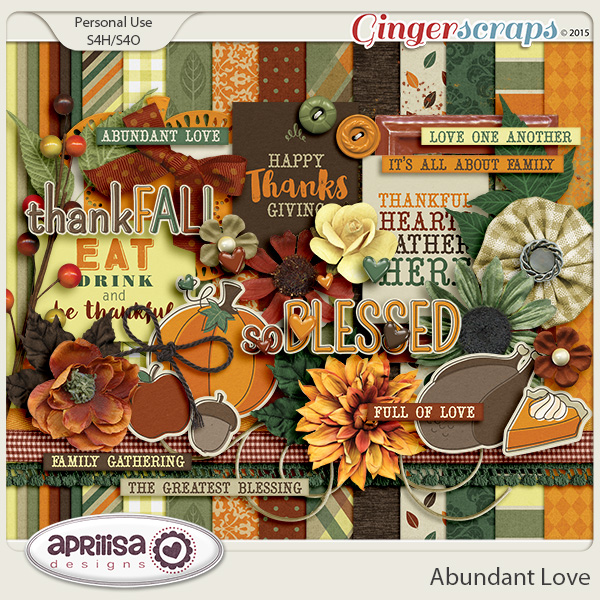 Abundant Love - Kit by Aprilisa Designs